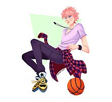 Kisumi's Basketball Photographic Print
