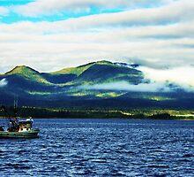 Leaving Ketchikan Harbor, Alaska by NSauer01