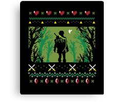 Ugly Sweater Link Canvas Print