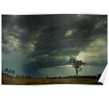 Storm Front - Peachester Poster