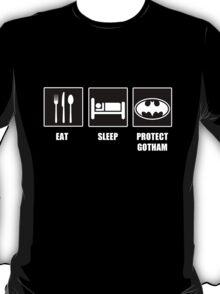 Eat Sleep Protect Gotham T-Shirt
