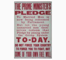 The prime ministers pledge to married men is now being redeemed by parliament 335 One Piece - Short Sleeve