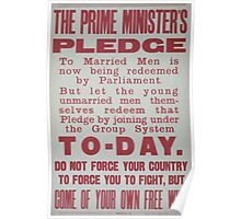 The prime ministers pledge to married men is now being redeemed by parliament 335 Poster