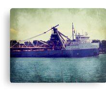 Great Lakes Freighter Metal Print