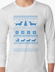 Love Joy Peace Wiener Dogs Long Sleeve T-Shirt