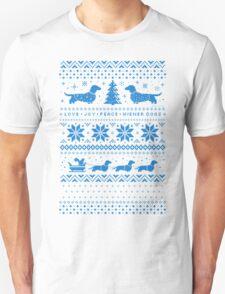 Love Joy Peace Wiener Dogs T-Shirt