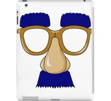 Groucho Marx glasses iPad Case/Skin