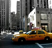 NYC Taxi by Federica Gentile