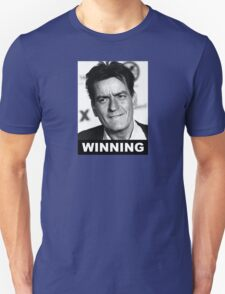 Charlie Seen x WINNING! (Official BLACK Normal Style Text) T-Shirt