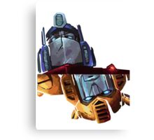 Optimus/bumblebee Canvas Print