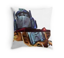 Optimus/bumblebee Throw Pillow
