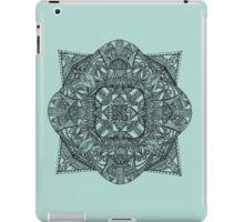 Black Mandala iPad Case/Skin