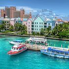 Atlantis and Harbor Village in Paradise Island, Nassau, The Bahamas by Jeremy Lavender Photography