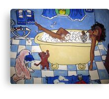 Home Sweet Bath Canvas Print