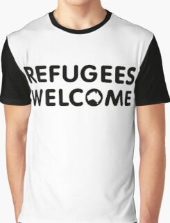 Refugees Welcome Australia Graphic T-Shirt