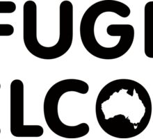 Refugees Welcome Australia Sticker