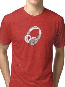 Beats Pro Headphones Tri-blend T-Shirt