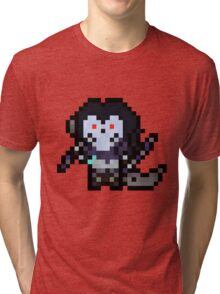 Death, The Pixel Horseman Tri-blend T-Shirt