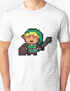 Link, Hyrule's Pixel Guardian Unisex T-Shirt