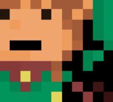 Link, Hyrule's Pixel Guardian Sticker