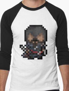 Ezio, The Pixel Assassin Men's Baseball ¾ T-Shirt