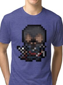 Ezio, The Pixel Assassin Tri-blend T-Shirt