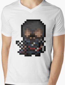 Ezio, The Pixel Assassin Mens V-Neck T-Shirt