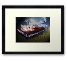 cloud cover Framed Print