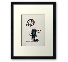 And His Head Swelled with Pride... Framed Print