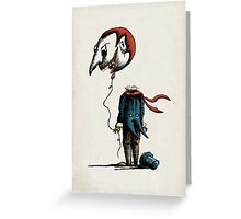 And His Head Swelled with Pride... Greeting Card