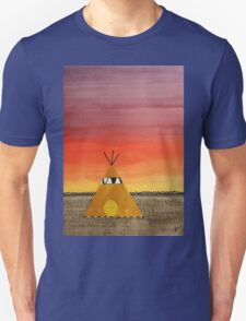 Tepee or Not Tepee original painting Unisex T-Shirt