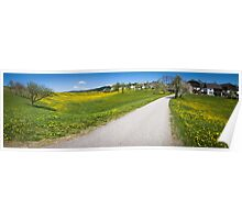 Countryside Panorama Poster