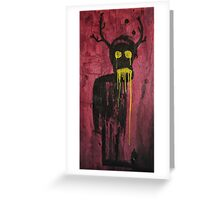 Untitled (demon) Greeting Card
