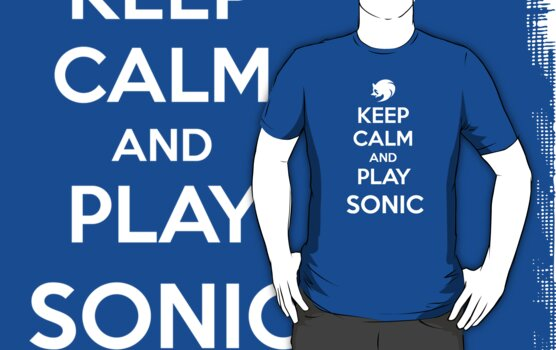 Keep Calm and Play Sonic by aizo