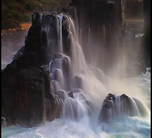 Boneyard Falls by Peter Hill