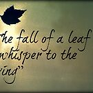 The Fall Of A Leaf by AngieBanta