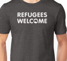 Refugees Welcome Australia (White) Unisex T-Shirt