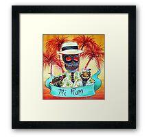 Mi Rum Framed Print