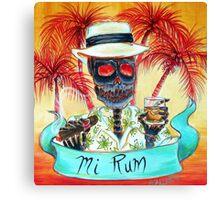 Mi Rum Canvas Print