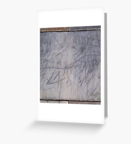 Marked stone #1 Greeting Card