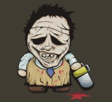 Tiny Leatherface by MrBwasFramed