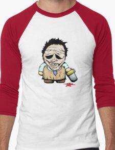 Tiny Leatherface Men's Baseball ¾ T-Shirt
