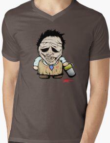 Tiny Leatherface Mens V-Neck T-Shirt