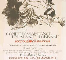 Comité dassistance en Alsace Lorraine Tombola artistique Exposition du 7 au 30 avril 1916 au Musée des Arts Décoratifs by wetdryvac