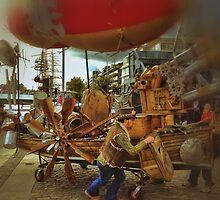 Mad Max Rock Boat by Filipkos