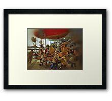Mad Max Rock Boat Framed Print