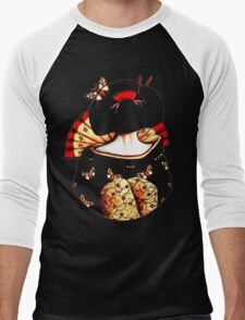 Geisha Girl TShirt Men's Baseball ¾ T-Shirt