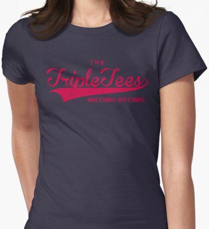 TTT. Womens Fitted T-Shirt