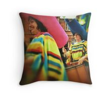 Festival Parade  Throw Pillow