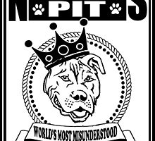 NOTORIOUS PIT BULL by urbansuburban